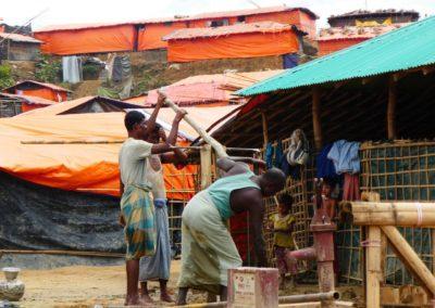 Sacando agua en Jamtoli / Jose Manuel Mota