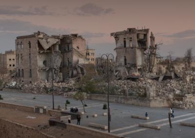 Ruinas del este de Alepo / Alberto Rodríguez