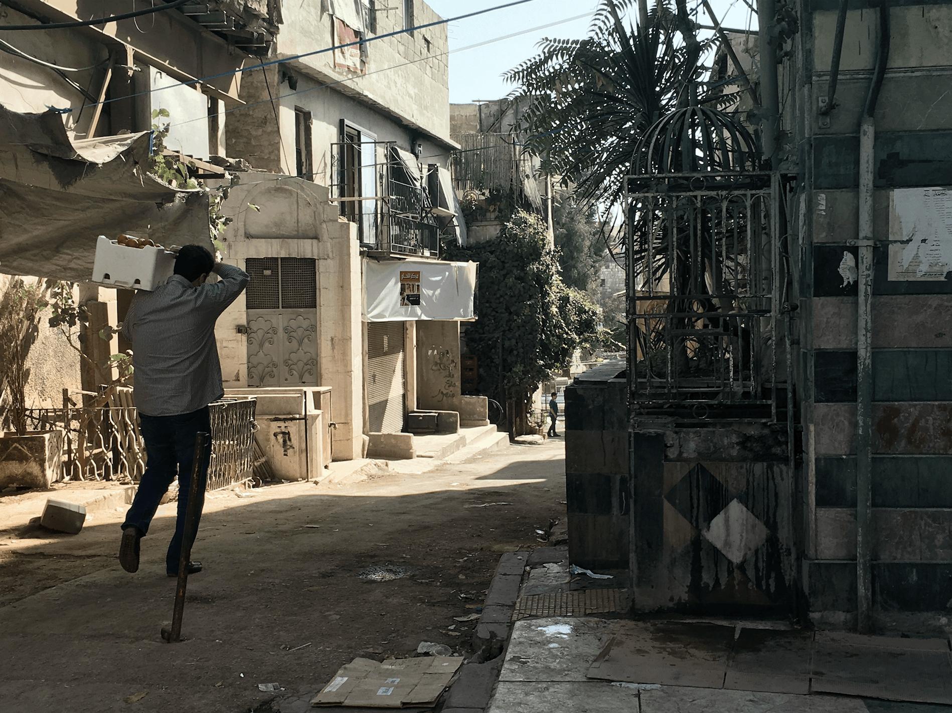 Día de mercado en Damasco / Laura Lavinia