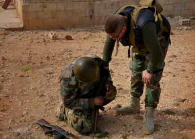 Soldados en Deir Ezzor / Ali Salami