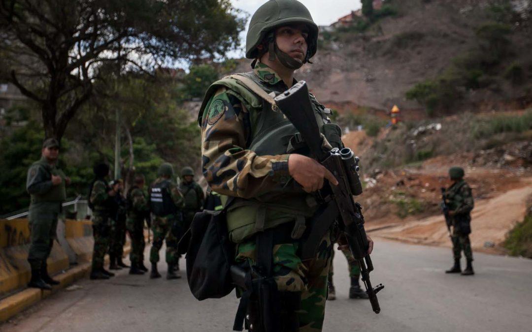 Asesinados 3 militares de la Guardia Nacional Bolivariana por guerrilleros del ELN