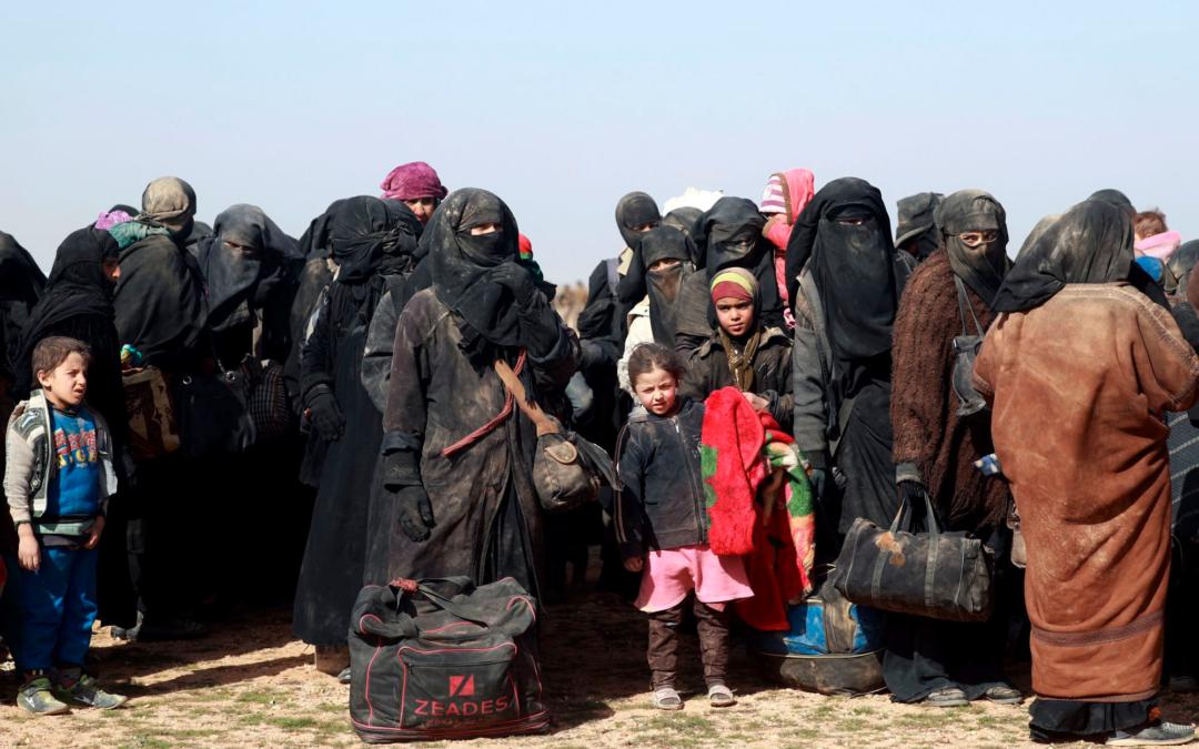Francia prepara la repatriación de sus nacionales en campamentos sirios