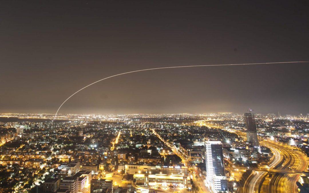 ¿Gaza ataca Tel Aviv?