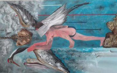 Ehmedo Khalil,  la lucha de un hombre kurdo-sirio para convertirse en pintor