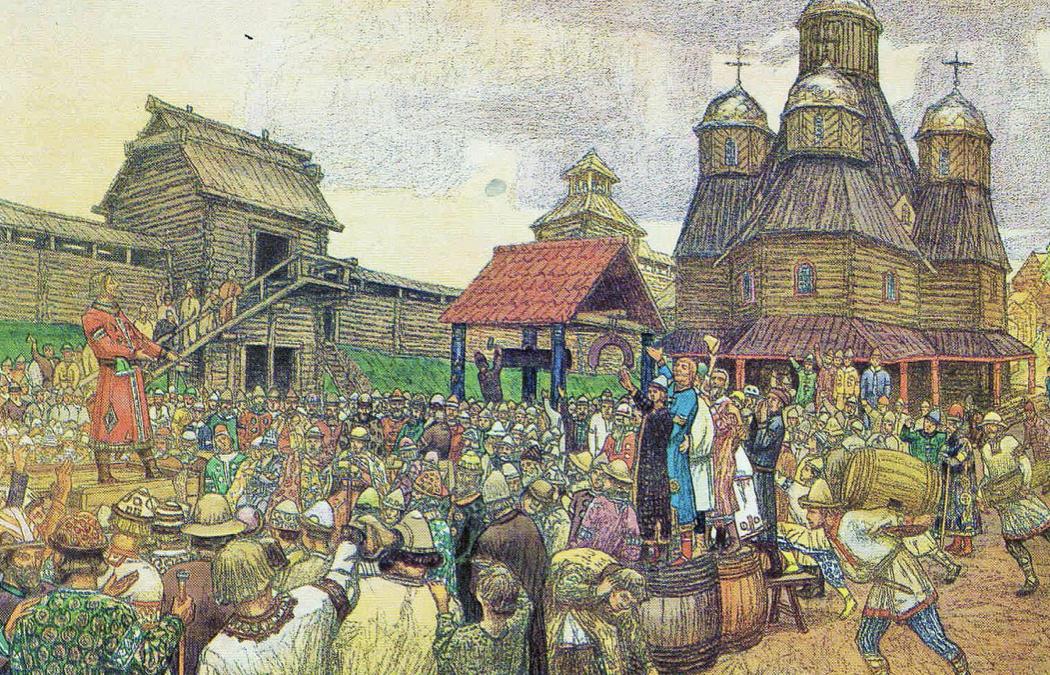 Ucrania-Rusia, identidad dividida. Rus de Kiev y sus orígenes
