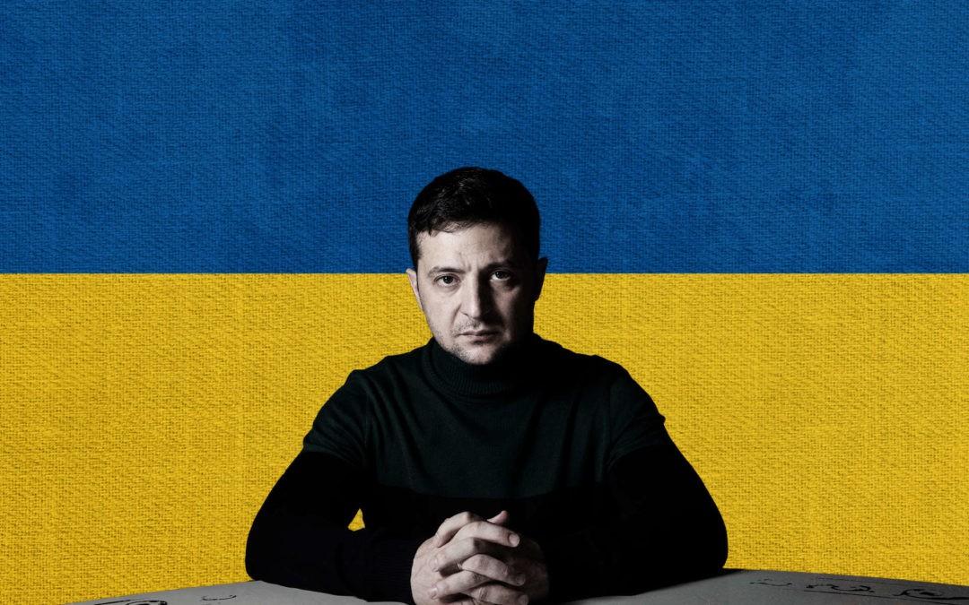 Zelenski, un año de cambio e incertidumbre en Ucrania